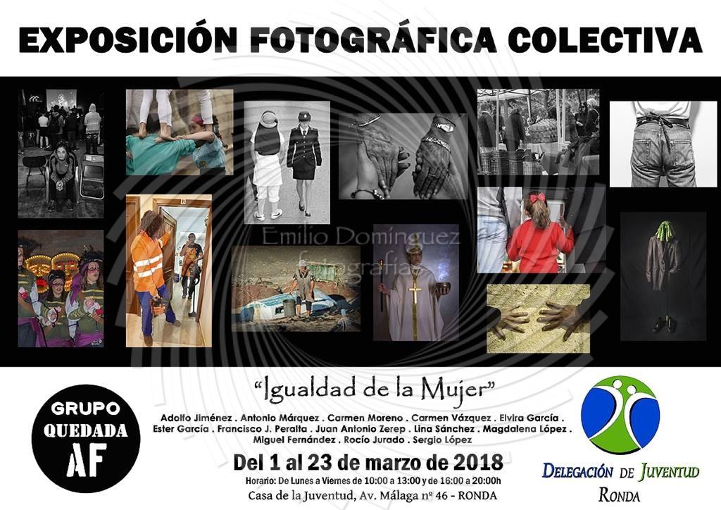 Colectiva igualdad de la mujer del grupo quedada af en ronda emilio dominguez fotograf as - Casa emilio benalmadena ...