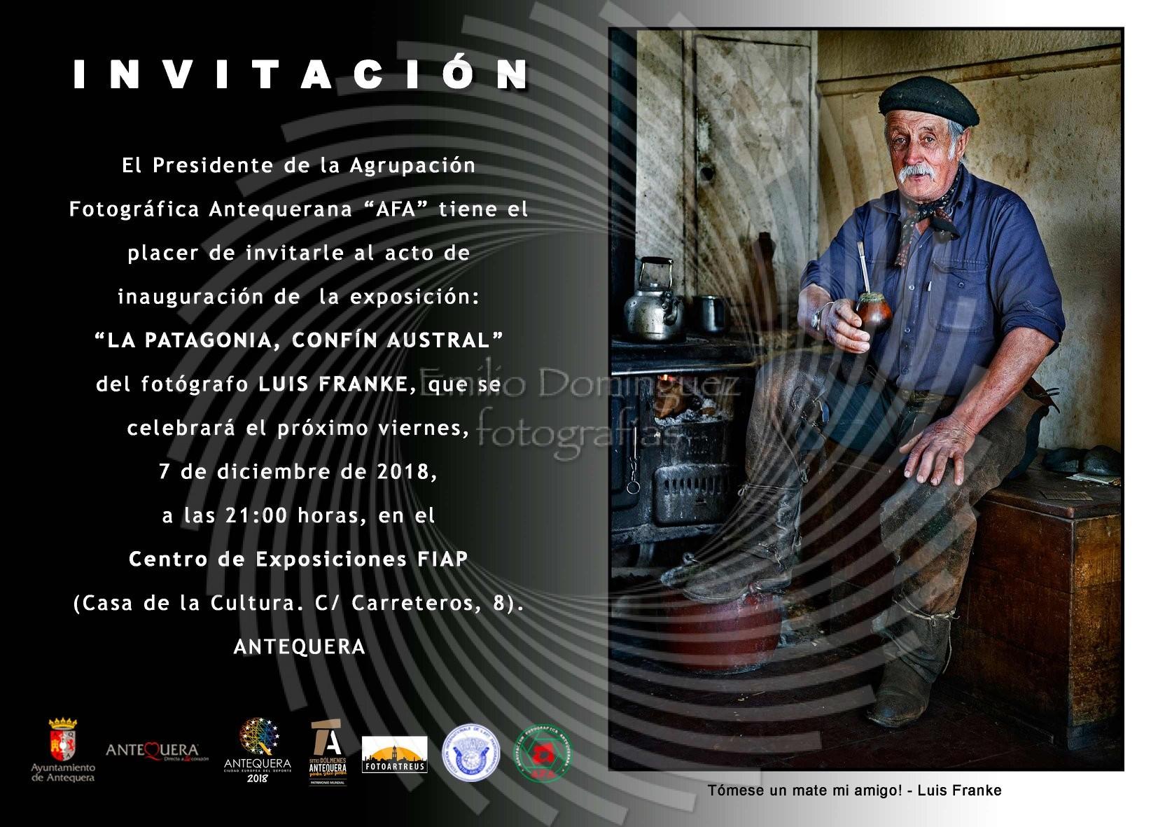 La patagonia conf n austral de luis franke en antequera emilio dominguez fotograf as - Casa emilio benalmadena ...